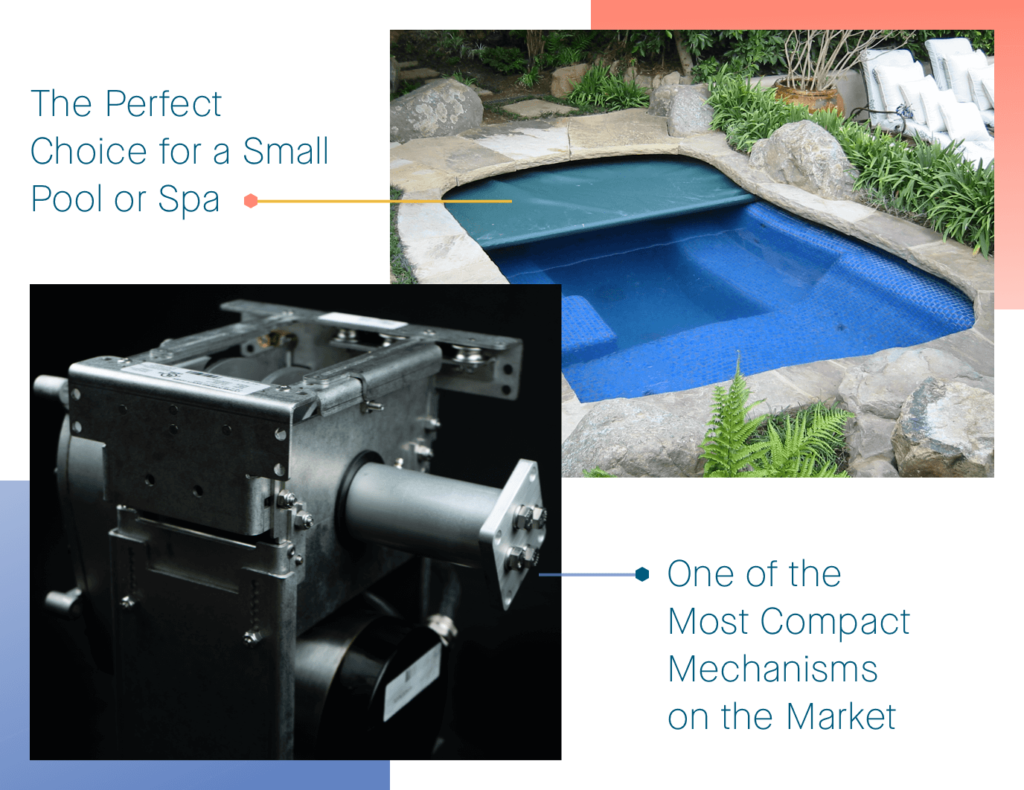 Coverstar Automatic Pool Cover Atom Model